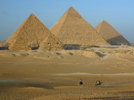 Marile piramide de la Giza